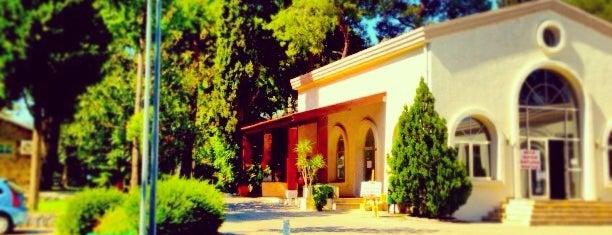 Özel İzmir Amerikan Koleji is one of Tempat yang Disukai Burak.