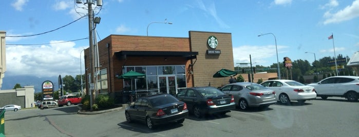 Starbucks is one of Lynn Valley's Saved Places.
