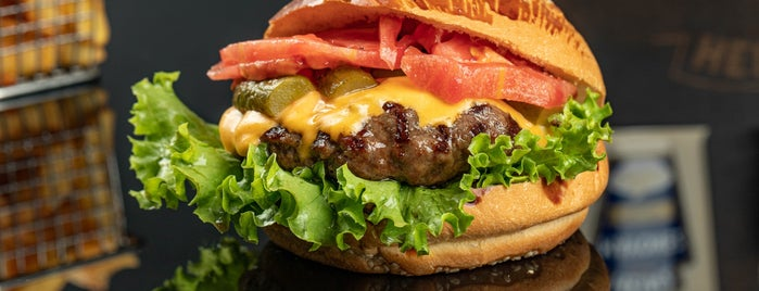 Harvey 34 Burger is one of Istanbul.