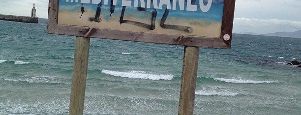 Isla De Las Palomas is one of Cádiz.
