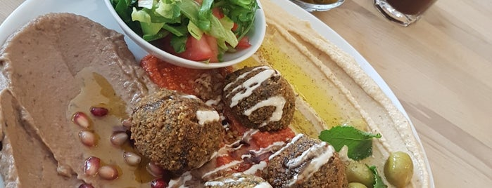 Syryjka - Vegan, Vegetarian, Syrian Food is one of Warsaw no. 1.