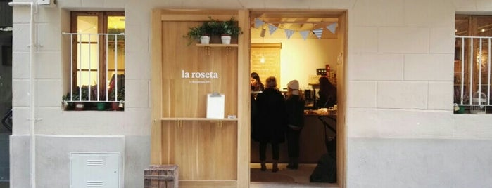 La Roseta is one of coffee in barcelona.