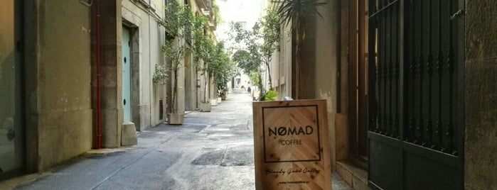 Nømad Coffee Lab & Shop is one of Barcelona coffee shops.
