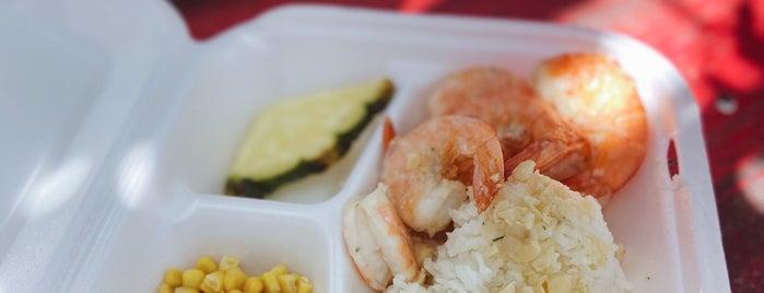Fumi's Kahuku Shrimp is one of Waikiki, Oahu, Hawaii.