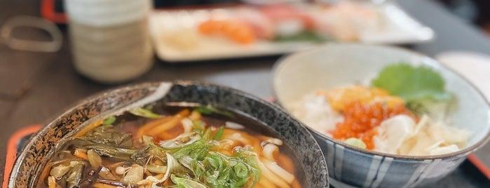 Sagami Japanese Restaurant is one of おいしい御飯@mainland.