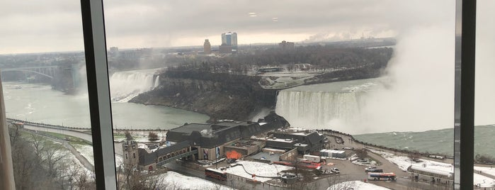 Niagara Falls Marriott Fallsview Concierge Lounge is one of The Falls.