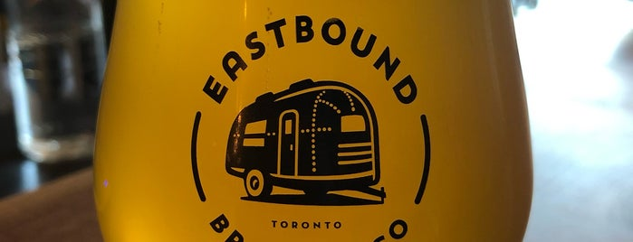 Eastbound Brewing Company is one of Tempat yang Disukai Boris.