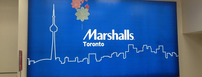 Marshalls is one of สถานที่ที่ Lorraine ถูกใจ.