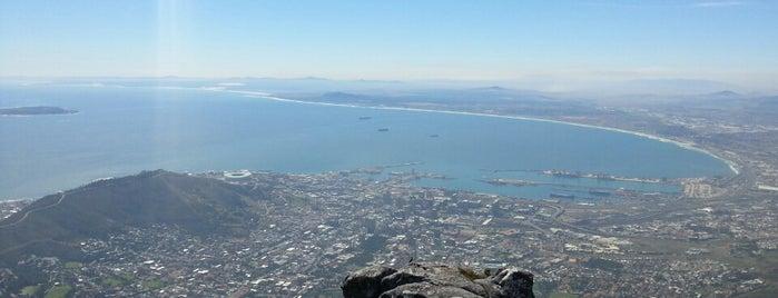 Table Mountain National Park is one of Tsamina mina waka waka eh eh.