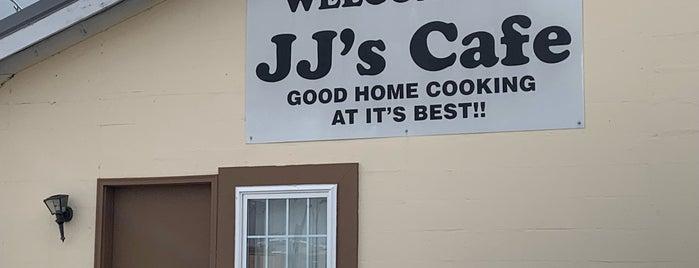 JJ's Cafe is one of สถานที่ที่ Erica ถูกใจ.