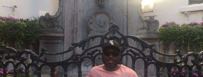 Manneken Pis is one of Tempat yang Disukai Devonta.
