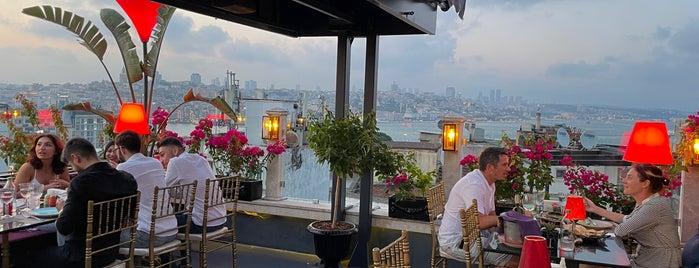 Roof Mezze 360 Restaurant is one of Lugares favoritos de Devonta.