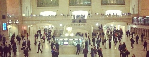 Grand Central Terminal is one of Tempat yang Disukai Devonta.