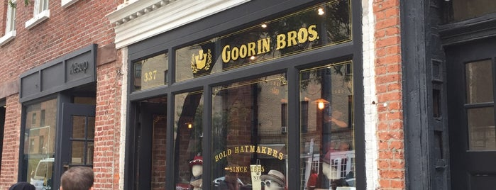 Goorin Bros. Hat Shop - West Village is one of Locais curtidos por Devonta.