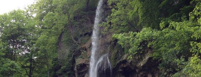 Bad Uracher Wasserfälle is one of Orte, die Breck gefallen.