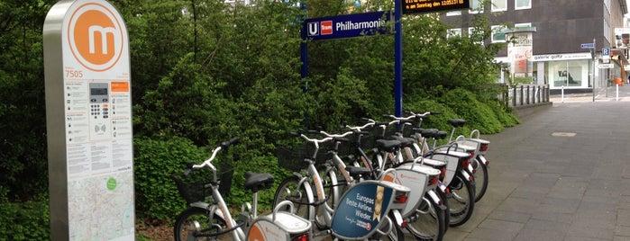 Metropolradstation 7505 Philharmonie is one of Metropolradstationen Essen & Umgebung.