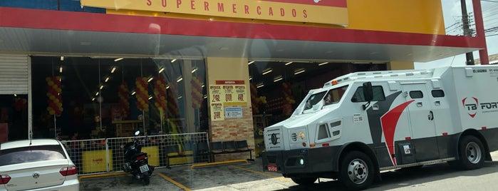 Rede Mais Supermercado is one of ATM - Onde encontrar caixas eletrônicos.