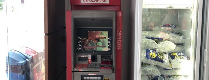 Conveniência is one of ATM - Onde encontrar caixas eletrônicos.