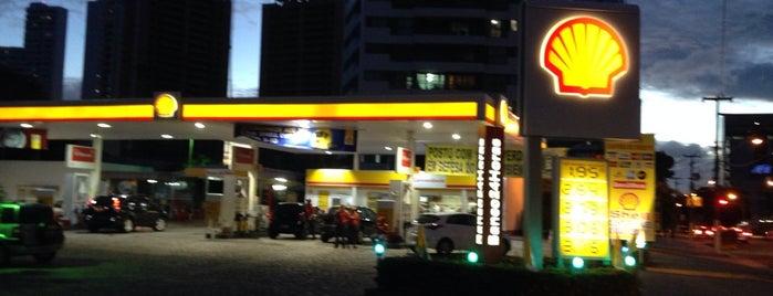 Posto São Pedro (Shell) is one of ATM - Onde encontrar caixas eletrônicos.