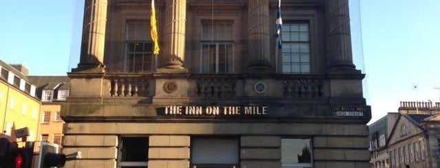 The Inn on the Mile is one of Edinburgh mit Mum.