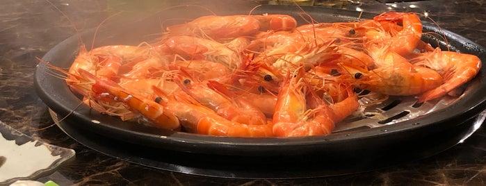 Steam Era Seafood Steamboat Restaurant 蒸时代海鲜蒸汽火锅 is one of K.