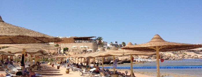 Beach at Savoy Sharm El Sheikh is one of Joud's Liked Places.