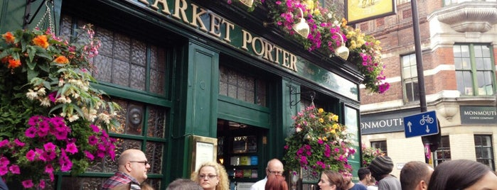 The Market Porter is one of London Bars and Pubs.