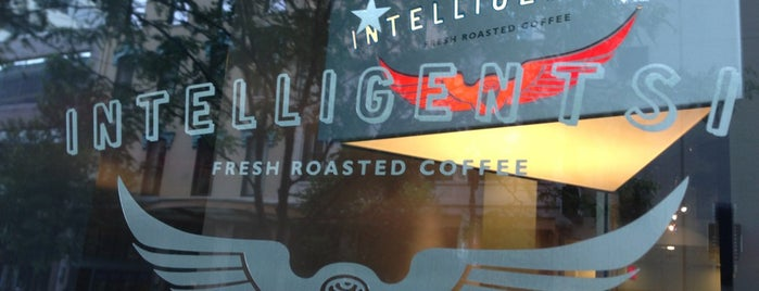 Intelligentsia Coffee is one of Don't Mind Going Back.