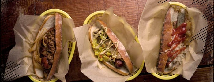 Rosamunde Sausage Grill is one of 2014 Choice Eats Restaurants.