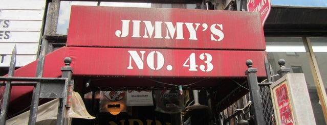 Jimmy's No. 43 is one of Liquid Lent.