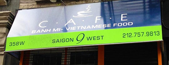 Saigon 9 West Cafe is one of The 10 Best Restaurants in Hell's Kitchen.