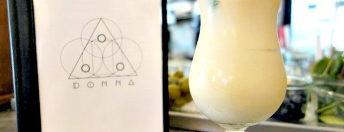Donna is one of New York City's Best Piña Coladas.