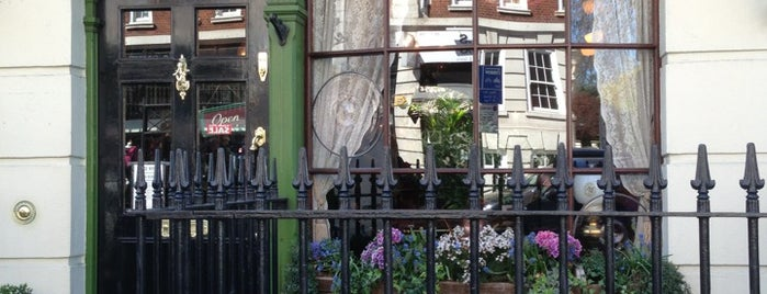 The Sherlock Holmes Museum is one of London Map.