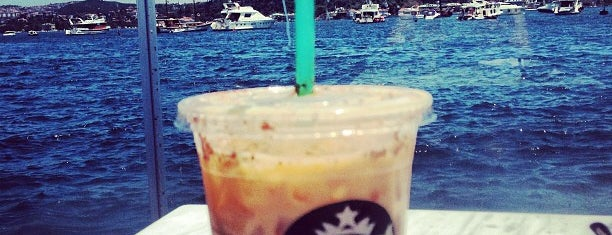 Starbucks is one of Istanbul love.