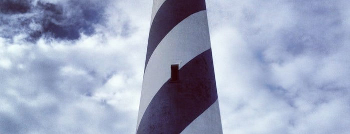 Cape Hatteras Lighthouse is one of Places.