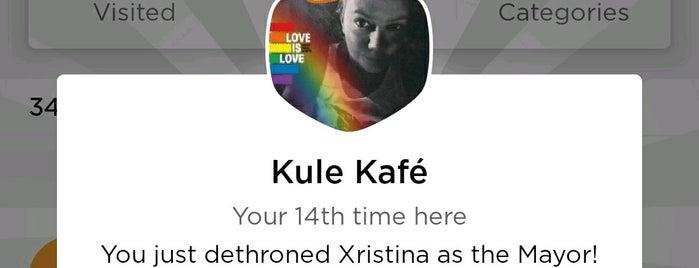 Kule Kafé is one of Thess /Coffee Bars.
