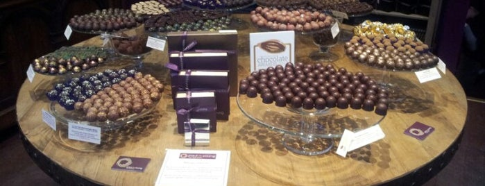 Paul A Young Fine Chocolates is one of London shopping..