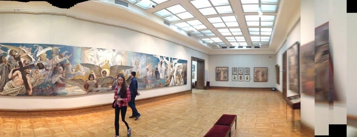 Tretyakov Gallery is one of to go.
