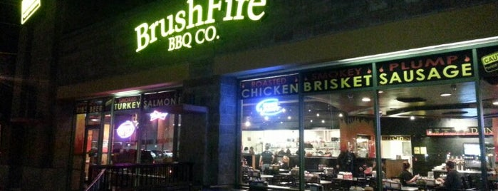 Brushfire BBQ is one of Lieux qui ont plu à Alexandra.