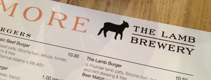 The Lamb is one of Food & Drink to check out.