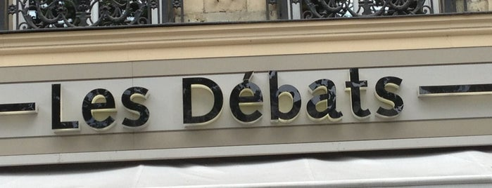 Les Débats is one of Parisian.
