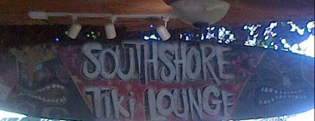 South Shore Tiki Lounge is one of Tempat yang Disukai Stacey.