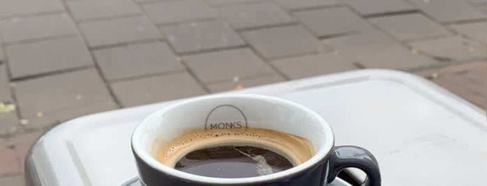 Monks Coffee Roasters is one of Amsterdam, Netherlands.