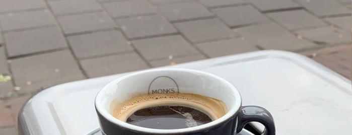 Monks Coffee Roasters is one of Amsterdam Fika.