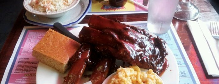 New York's Original BBQ Restaurant is one of Food.