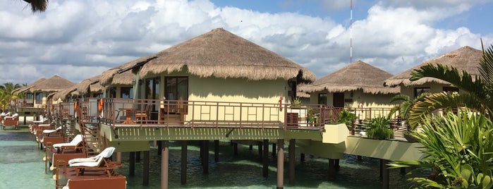 Palafitos Overwater Bungalows is one of Riviera Maya.
