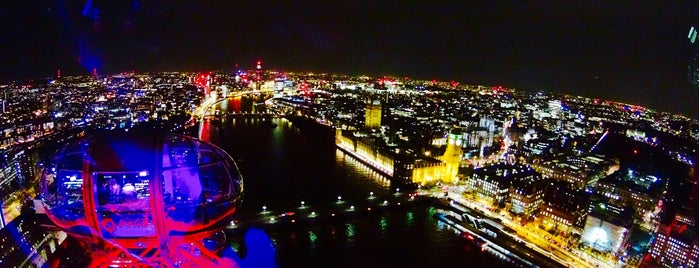 The London Eye is one of Tempat yang Disukai Edwulf.