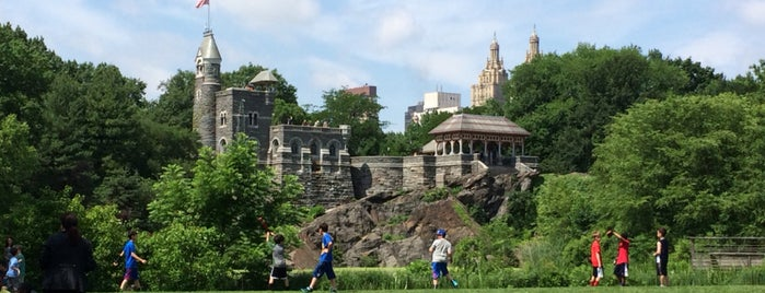 Belvedere Castle is one of Lieux qui ont plu à Edwulf.