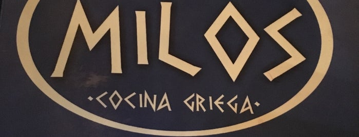 Milos Cocina Griega is one of Edwulfさんのお気に入りスポット.