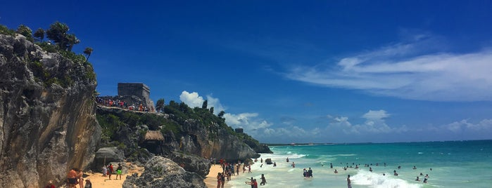 Zona Arqueológica de Tulum is one of Edwulfさんのお気に入りスポット.